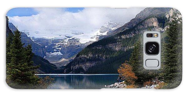 Lake Louise Galaxy Case by Larry Ricker