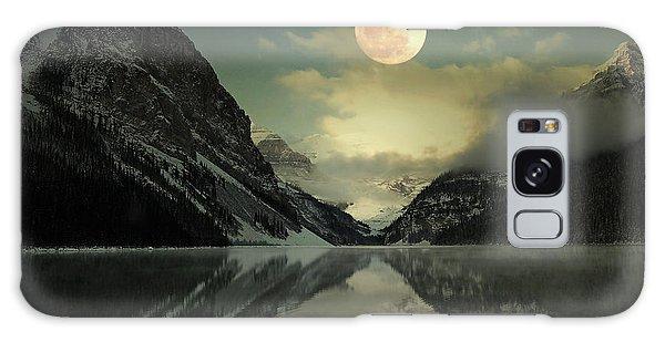 Lake Louise Moon Glow Galaxy Case by Andrea Hazel Ihlefeld