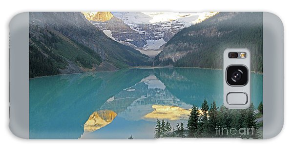 Lake Louise Sunrise Galaxy Case