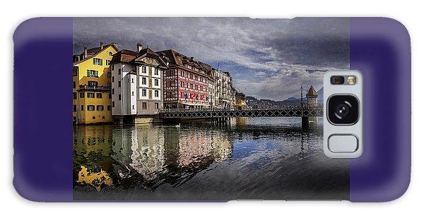 Lake Lucerne  Galaxy Case by Carol Japp