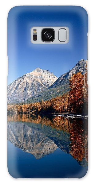 Lake Mcdonald Autumn Galaxy Case