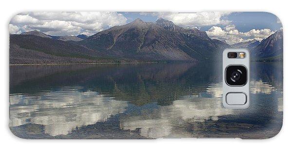 Lake Mcdonald Reflection Glacier National Park Galaxy Case