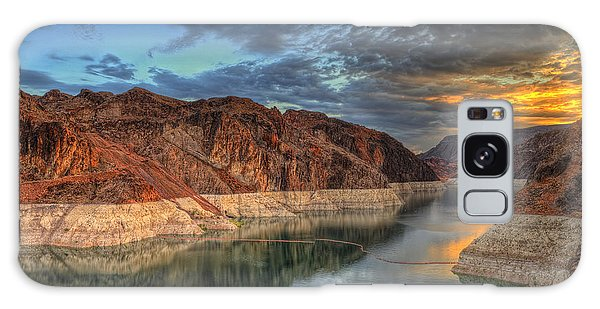 Lake Mead Sunrise Galaxy Case