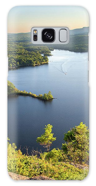 Lake Megunticook, Camden, Maine  -43960-43962 Galaxy Case
