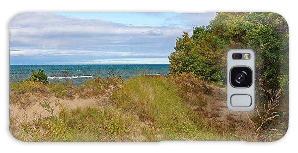 Lake Michigan Shore Galaxy Case