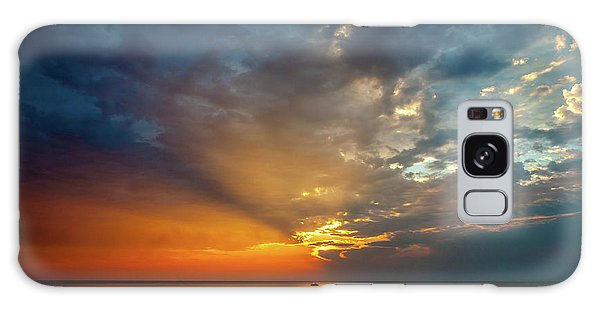 Galaxy Case featuring the photograph Lake Michigan Sunset by Matthew Chapman
