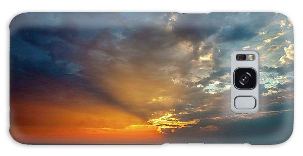Lake Michigan Sunset Galaxy Case
