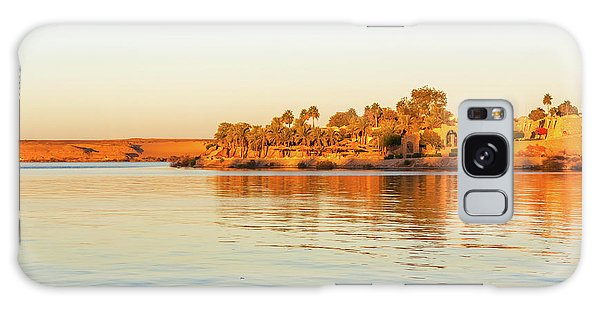Lake Nasser In Abu Simbel Galaxy Case