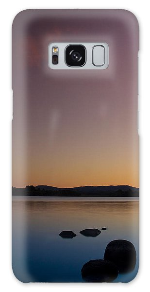 Lake Of Menteith By Sunset Galaxy Case by Gabor Pozsgai