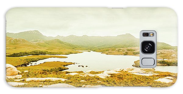 Natural Galaxy Case - Lake On A Mountain by Jorgo Photography - Wall Art Gallery