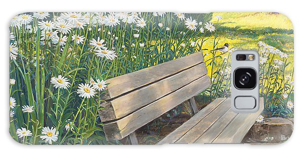 Lake Padden Series - Memorial Bench Of Judy Winter Galaxy Case