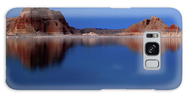 Lake Powell At Sunset Galaxy Case