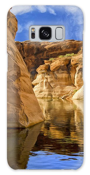 Lake Powell Stillness Galaxy Case