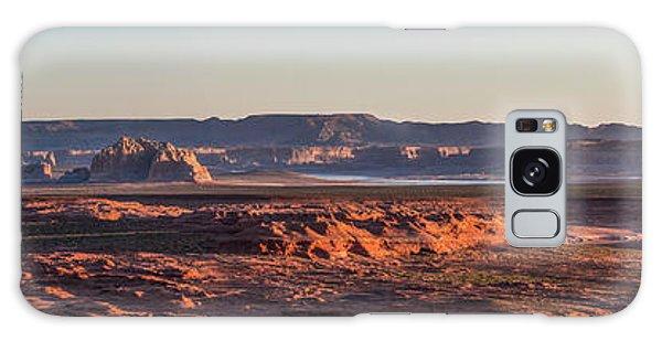 Lake Powell Sunrise Panorma Galaxy Case
