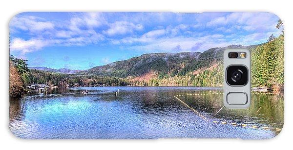 Lake Samish Galaxy Case by Spencer McDonald