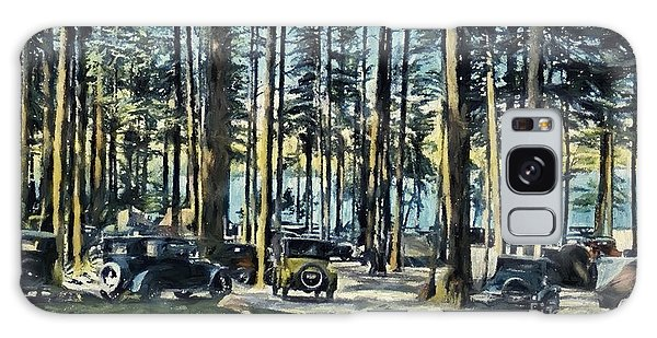 Lake Shore Park - Gilford N H Galaxy Case