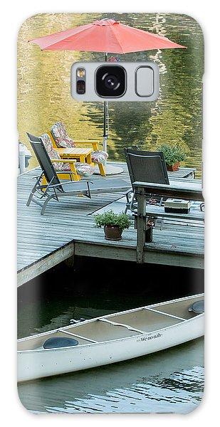 Lake-side Dock Galaxy Case