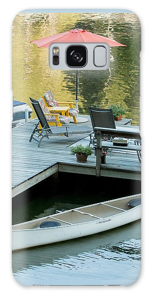 Lake-side Dock Galaxy Case