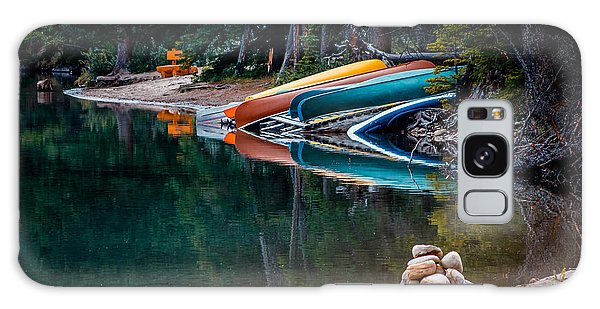 Kayaks At Rest Galaxy Case