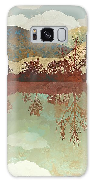 Landscapes Galaxy Case - Lake Side by Spacefrog Designs