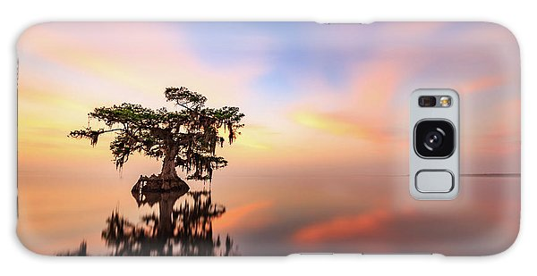Lake Sunrise Galaxy Case