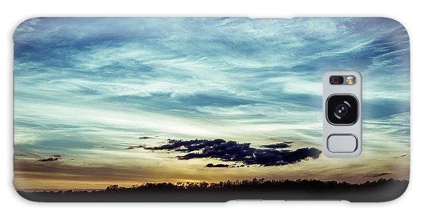 Lake Sunset Galaxy Case by Scott Meyer