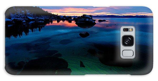 Lake Tahoe Clarity At Sundown Galaxy Case
