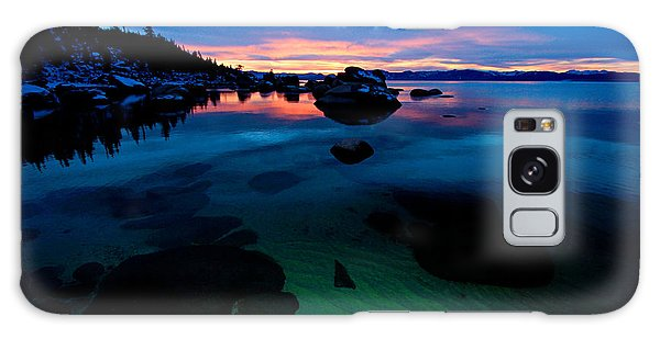 Lake Tahoe Clarity At Sundown Galaxy Case