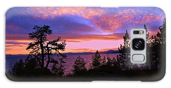 Lake Tahoe Crescendo Galaxy Case