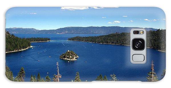 Lake Tahoe Emerald Bay Galaxy Case by Jeff Lowe