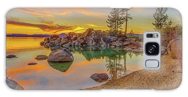 Lake Tahoe Majestic Sunset Galaxy Case