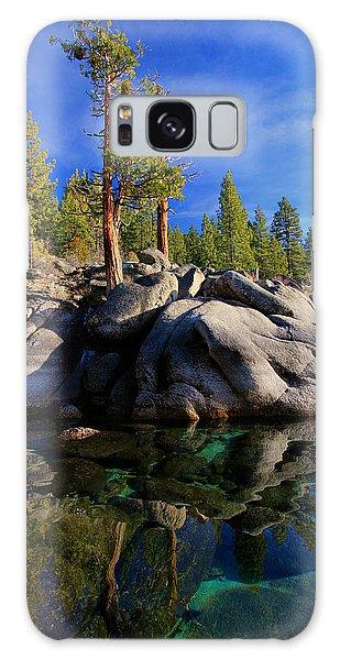 Lake Tahoe Rocks Galaxy Case