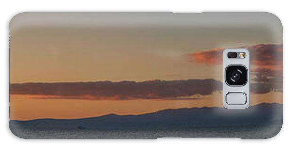 Lake Tahoe South Shore Panorama - 1 Galaxy Case