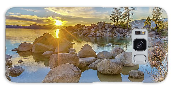 Lake Tahoe Spring Starburst Galaxy Case