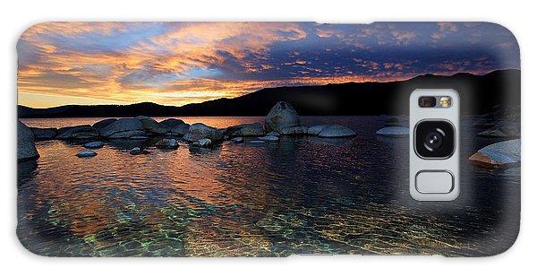 Lake Tahoe Sundown Galaxy Case