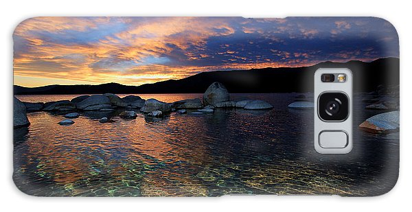 Lake Tahoe Sundown Galaxy Case