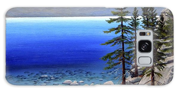 Lake Tahoe Sunrise Galaxy Case
