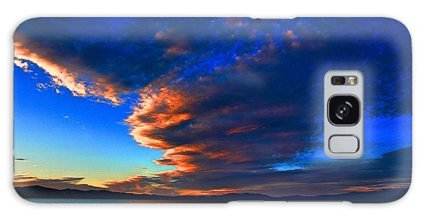Lake Tahoe Sunset Galaxy Case by Irina Hays