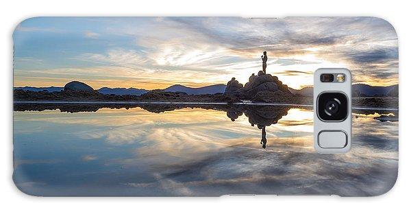 Lake Tahoe Sunset Galaxy Case
