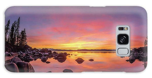 Lake Tahoe Sunset Peace Galaxy Case
