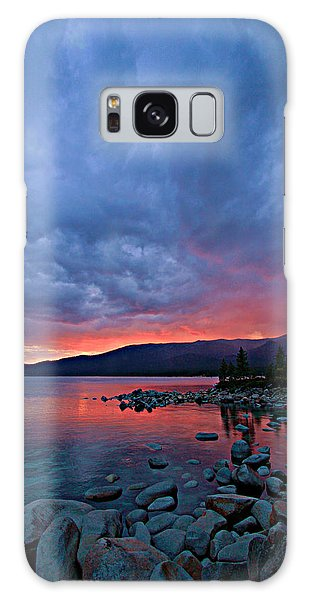 Lake Tahoe Sunset Portrait 2 Galaxy Case