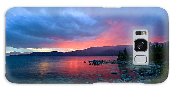 Lake Tahoe Sunset Galaxy Case