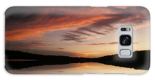 Lake Thunderbird Sunset Galaxy Case