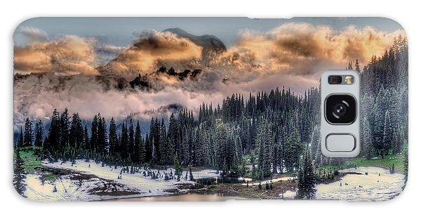 Lake Tipsoo, Mt Rainier Galaxy Case by Greg Sigrist