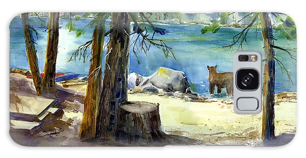 Lake Valley Bear Galaxy Case