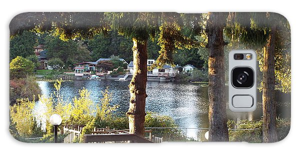 Beverly Lake View In Fall Galaxy Case