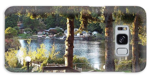 Beverly Lake View In Fall Galaxy Case by Judyann Matthews