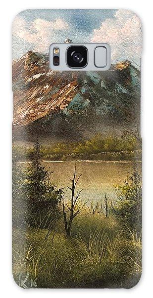 Lake View Mountain  Galaxy Case