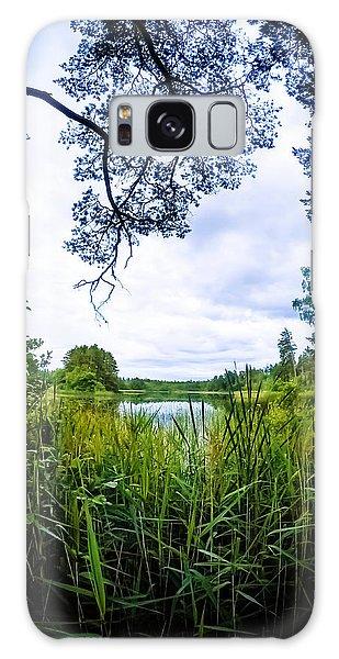 Sweden Galaxy Case - Lake View by Nicklas Gustafsson