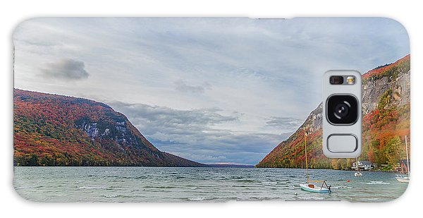 Lake Willoughby Blustery Fall Day Galaxy Case by Tim Kirchoff